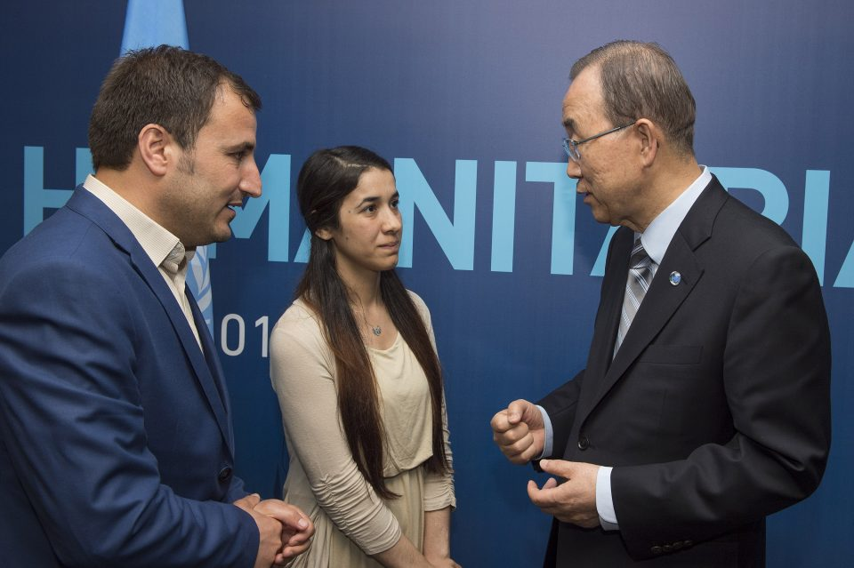 Yazda Meeting with Ban-Ki Moon